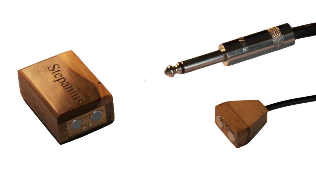 snimac drevo kytara